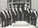 Charter members, Luke E. Hart assembly #1177, fourth degree Knights of Columbus, Clarkston, WA...