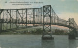 Lewiston-Clarkston Bridge over Snake River, Lewiston, Idaho and Clarkston, Washington, circa 1914