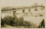 Bridge over Snake River, Lewiston, Idaho, 1923