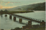 Lewiston-Clarkston Bridge over Snake River, Lewiston, Idaho and Clarkston, Washington, 1909