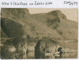 Hen & Chickens (rock formation) on Idaho side of the Snake River, Asotin County, Washington,...