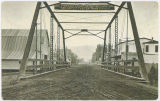 Bridge across Asotin Creek, Asotin, Washington, circa 1909-1919