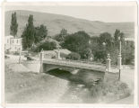Veteran's Memorial Bridge of Asotin, Washington, circa 1920-1929