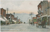 Main Street, Clarkston, Washington, 1908