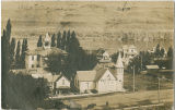 Asotin, Washington with courthouse, jail and Methodist church labeled, 1907
