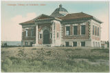 Carnegie Library at Lewiston, Idaho, circa 1903-1916