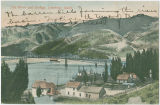 River and Bridge, Lewiston, Idaho, circa 1915-1917