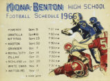 Kiona-Benton High School football schedule 1966