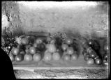 Dr. Hedger exhibit of fruit at co. fair -1908