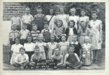 Class photo, Benton City Grade School, 5th grade, 1947-1948