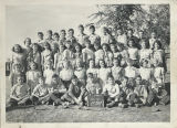 Class photo, Benton City Grade School, 6th grade, 1948-1949