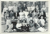 Class photo, Benton City Grade School, 7th grade, 1949-1950