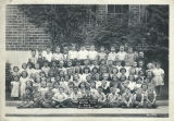Class photo, tonette class, Benton City, Washington, 1947-1948