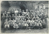 Class photos, tonettes, Benton City, Washington, 1946-1947
