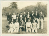 Lettermans Club, Woodland High School, Washington State, 1939