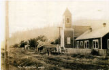 Clear Lake Congregational Church on Front Street, Clear Lake, Washington, circa 1910