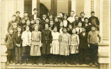 Clear Lake School, Miss Woods' class, November 1913
