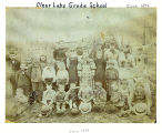 Clear Lake School children, circa 1894, Clear Lake, Washington