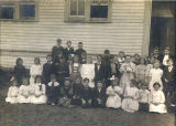 Clear Lake Grade School, circa 1909-1911