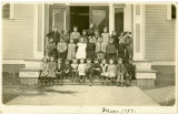 Elementary School Students, Clear Lake School, March 1913