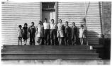 New Hope School students, Columbia County, Washington, circa 1920s