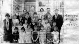 Columbia School class photo, 1929 - 1930