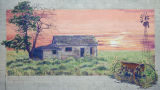 Mural, Otto Olds homestead, Connell, Washington