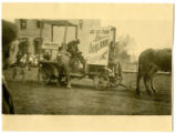 Connell Market float in Connell, Washington parade, 1915