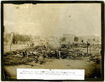Fire in Connell, Washington, 1909