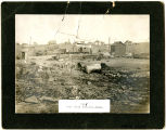 Fire in Connell, Washington, west side, 1905