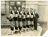 Boys basketball team, Connell, Washington, 1926