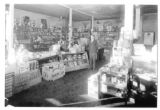 Miller Grocery interior, Connell, Washington, circa 1940s
