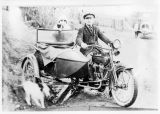 Harley Davidson with side car