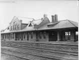 New Northern Pacific Railroad depot