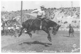 "Bronc riding on ""Typhoon"""