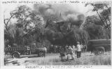 Haunted House Burned Oct. 8, 1958(sic) – Owned by D. J. Chamness Presently the Site of Mt. View...