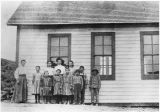 Dry Gulch School, Kittitas County, Washington, 1913