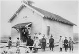 Badger Pocket School, Kittitas County, Washington, 1917