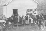Colockum School, Kittitas County, Washington, circa 1890s