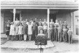 Woldale School, Kittitas County, Washington, October 1928