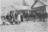 Peoh Point School, Kittitas County, Washington, circa 1910-1919