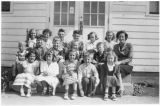 Reecer Creek School, fifth graders, Kittitas County, Washington, 1951