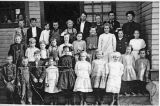 Unidentified school, class portrait, Kittitas County, Washington, circa 1900-1909