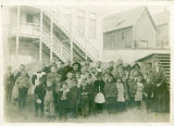 Roslyn school children, Kittitas County, Washington, circa 1890-1899