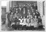 Rural school children, Kittitas County, Washington, circa 1890-1899