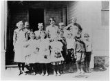 Rural school students, unidentified school in Kittitas County, Washington, circa 1900-1909