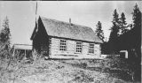 Log school house