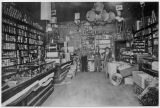 Unidentified grocery and dry goods store, Kittitas County, Washington, circa 1910-1919