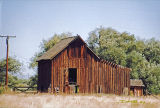 Worn wooden barn