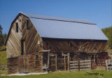 Artistic sided barn